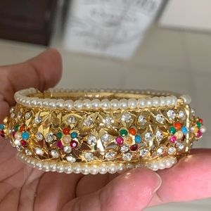 Beautiful women's Indian gold plated bracelet